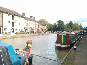 Stoke Bruerne, narrowboat, canal, Grand Union