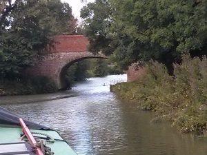 Grand union, canal, narrowboat