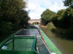 canal, bridge, grand union, summer