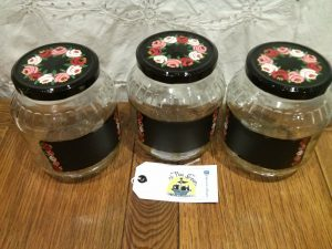 handpainted storage jars 1500ml