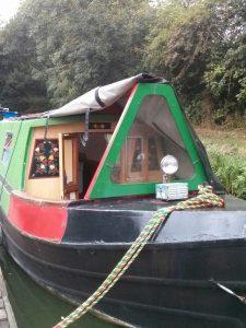narrowboat, welford, mooring, canal