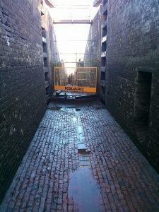 Foxton, empy lock, sluice, canal, narrowboat