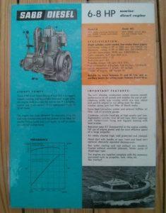 sabb, advertising, engine, 1970s