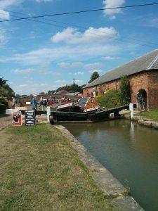 working boats, locks, braunston, grand union