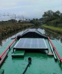 Pea Green, narrowboat, pendolino, train