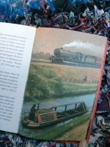 ladybird books, canals, steam engine