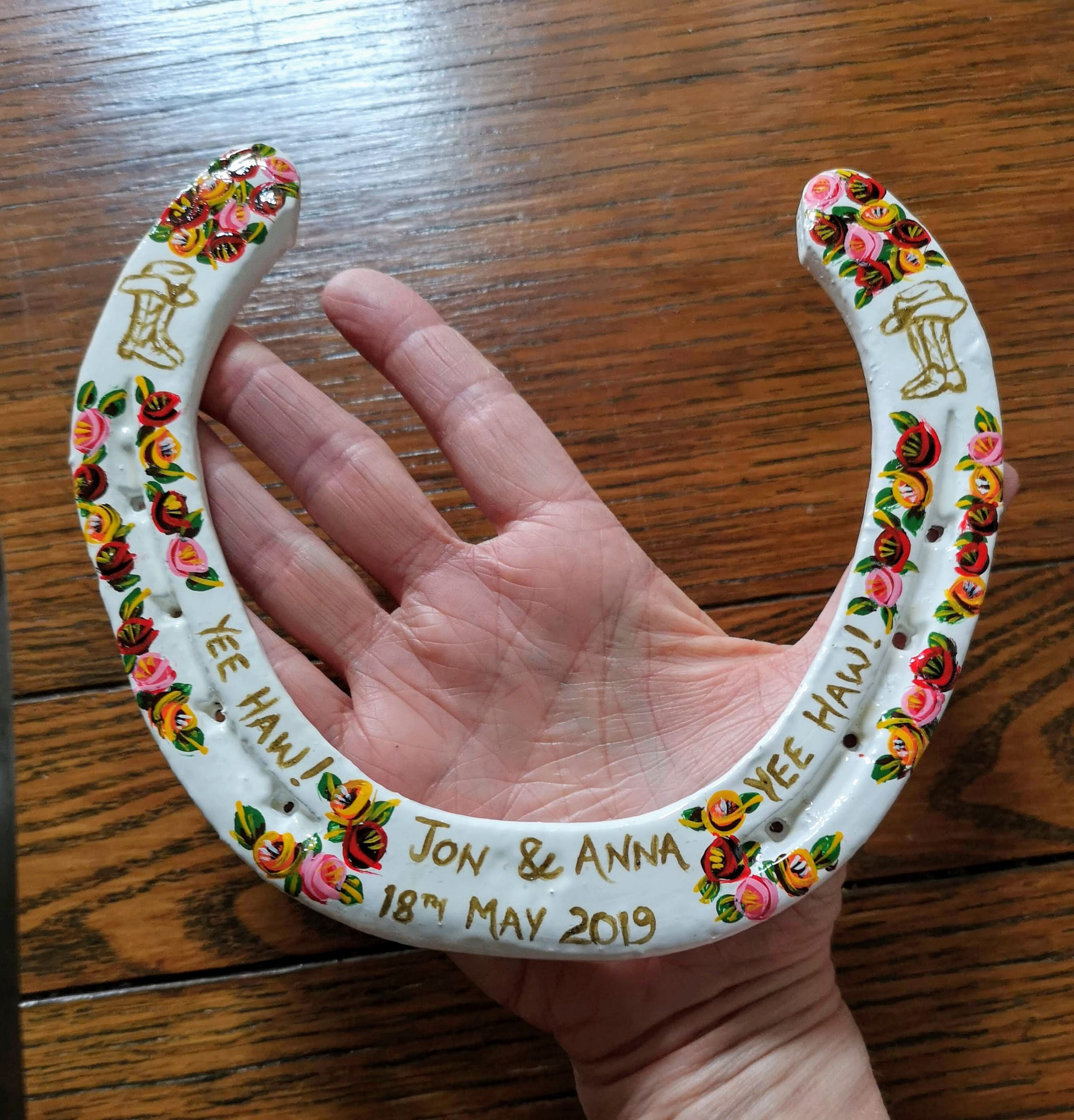 whopper horseshoe extra, large horseshoe