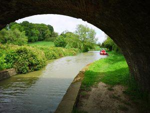 canal, canal bridge, foxton, leicester line