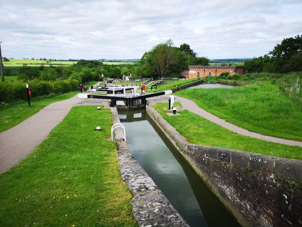 View of Foxton Locks May 2019