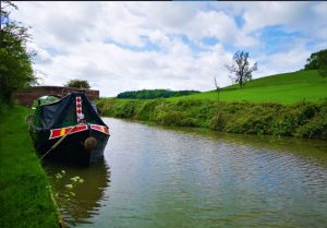 narrowboat, barney boat, grand union. canal, leicester line