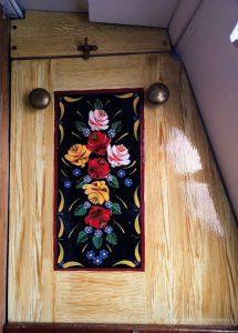 graining, reworking, roses, canal art