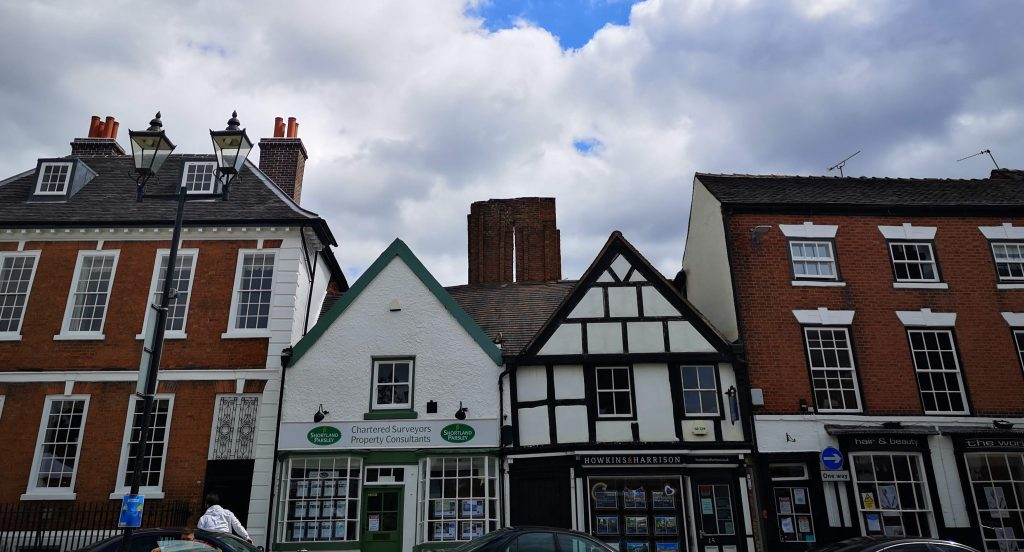 surviving medieval building atherstone